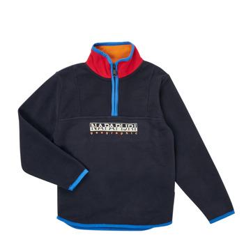 textil Dreng Fleecetrøjer Napapijri TILO HZ Marineblå