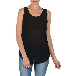 textil Dame Toppe / T-shirts uden ærmer Majestic MANON Sort