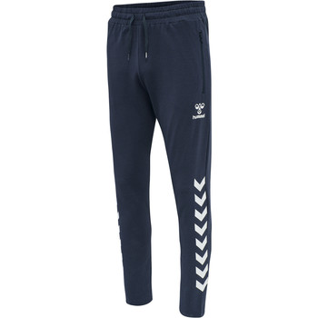 textil Herre Træningsbukser Hummel Pantalon  hmlray 2.0 tapered bleu foncé