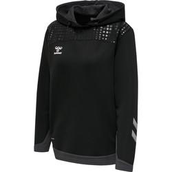 textil Dame Sweatshirts Hummel Sweatshirt à capuche femme  hmlLEAD poly noir