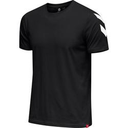 textil Herre T-shirts m. korte ærmer Hummel T-shirt  hmlLEGACY chevron noir