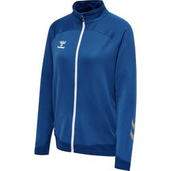 textil Dame Sportsjakker Hummel Veste zippée femme  hmlLEAD poly bleu