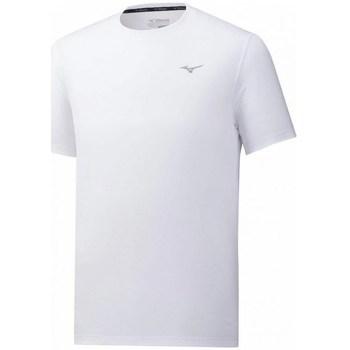 textil Herre T-shirts m. korte ærmer Mizuno Impulse Core Tee Hvid