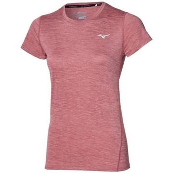 textil Dame T-shirts m. korte ærmer Mizuno Impulse Core Tee Pink