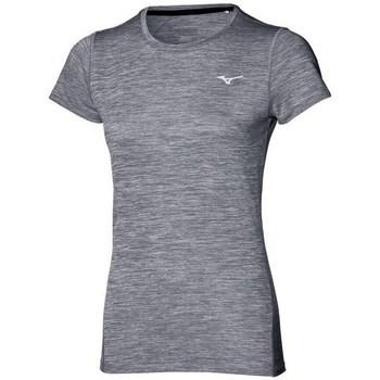 textil Dame T-shirts m. korte ærmer Mizuno Impulse Core Tee Grå