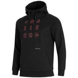 textil Herre Sweatshirts 4F BLM014 Sort