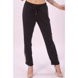 textil Dame Løstsiddende bukser / Haremsbukser Liu Jo TA1187T4634 Sort