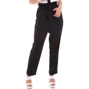 textil Dame Løstsiddende bukser / Haremsbukser Gaudi 011BD25040 Sort