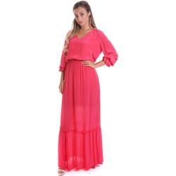 textil Dame Lange kjoler Gaudi 011FD15029 Lyserød