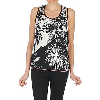textil Dame Toppe / T-shirts uden ærmer Derhy EDEN Sort / Hvid