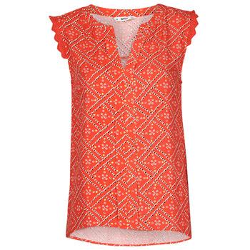 textil Dame Toppe / Bluser Only ONLVIOLETTE Orange