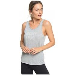 textil Dame Toppe / T-shirts uden ærmer Roxy CAMISETA TIRANTES MUJER  ERJZT04535 Grå