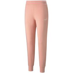 textil Dame Træningsbukser Puma Essential Logo Pants Orange
