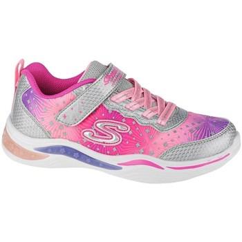 Sko Pige Lave sneakers Skechers Power Petalspainted Daisy Pink