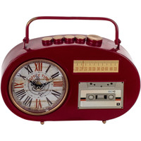 Indretning Ure Signes Grimalt Transistor Desktop Clock Rojo