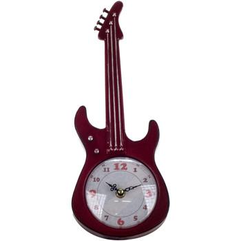 Indretning Ure Signes Grimalt Guitar bord ur Rojo