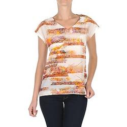textil Dame T-shirts m. korte ærmer TBS JINTEE Hvid