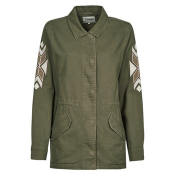 textil Dame Jakker / Blazere Only ONLNOLA Kaki