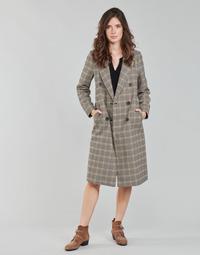 textil Dame Frakker Only ONLZOEZUE Brun