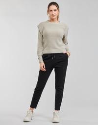 textil Dame Chinos / Gulerodsbukser Only ONLPOPSWEAT Sort
