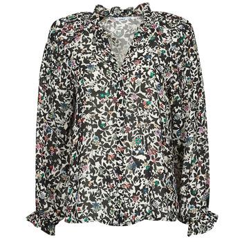 textil Dame Toppe / Bluser Only ONLMELINA Sort / Flerfarvet