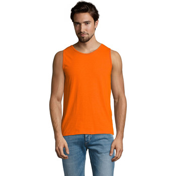 textil Herre Toppe / T-shirts uden ærmer Sols Justin camiseta sin mangas Naranja