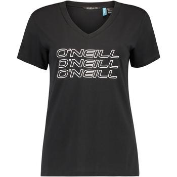 textil Dame T-shirts m. korte ærmer O'neill Triple Stack Sort