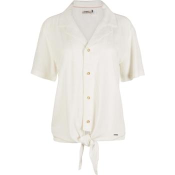 textil Dame Skjorter / Skjortebluser O'neill Cali Woven Hvid