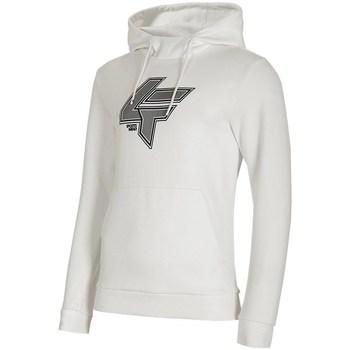 textil Herre Sweatshirts 4F BLM010 Hvid