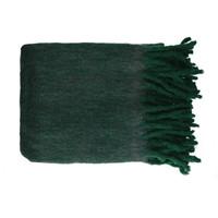Indretning Plaider og pyntetæpper Pomax COSY Grøn / Mørk