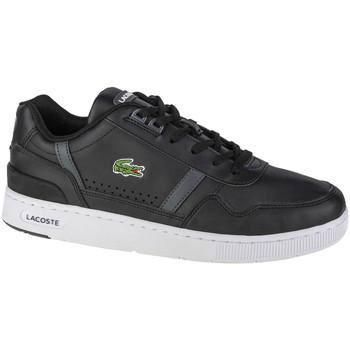 Sko Herre Lave sneakers Lacoste T-Clip Sort