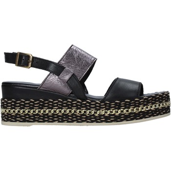 Sko Dame Sandaler Bueno Shoes 21WS5200 Sort