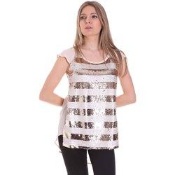 textil Dame Toppe / Bluser Gaudi 111BD45033 Lyserød