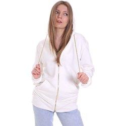 textil Dame Sweatshirts Cristinaeffe 4963 hvid