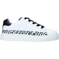 Sko Børn Sneakers Docksteps GLORY1 hvid