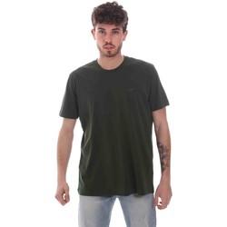 textil Herre T-shirts m. korte ærmer Key Up 2M915 0001 Grøn