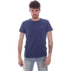 textil Herre T-shirts m. korte ærmer Key Up 2G69S 0001 Blå