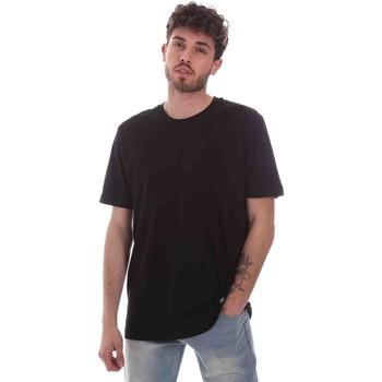 textil Herre T-shirts m. korte ærmer Key Up 2M915 0001 Sort