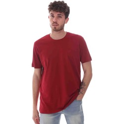 textil Herre T-shirts m. korte ærmer Key Up 2M915 0001 Rød