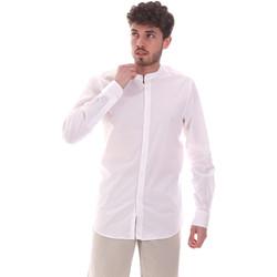 textil Herre Skjorter m. lange ærmer Sseinse CE639SS hvid