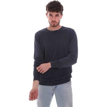 textil Herre Pullovere Sseinse ME1836SS Blå
