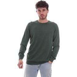 textil Herre Pullovere Sseinse ME1836SS Grøn
