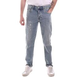 textil Herre Lige jeans Sseinse PJE764SS Blå