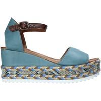 Sko Dame Sandaler Bueno Shoes 21WQ6000 Blå