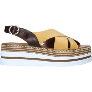 Sko Dame Sandaler Bueno Shoes 21WS5704 Gul