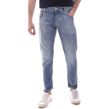 textil Herre Smalle jeans Gaudi 111GU26044 Blå