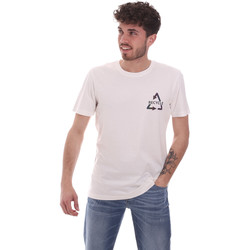 textil Herre T-shirts m. korte ærmer Antony Morato MMKS02005 FA100144 hvid
