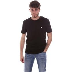 textil Herre T-shirts m. korte ærmer Antony Morato MMKS01924 FA100144 Sort