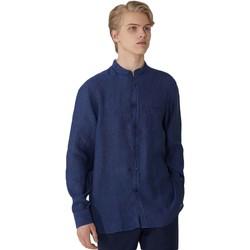 textil Herre Skjorter m. lange ærmer Trussardi 52C00154-1T002248 Blå