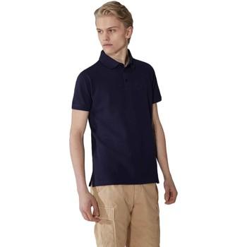 textil Herre Polo-t-shirts m. korte ærmer Trussardi 52T00492-1T003600 Blå